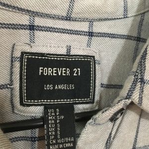Forever 21 Tops - flannel button-down